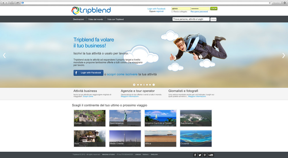 Business on Tripblend