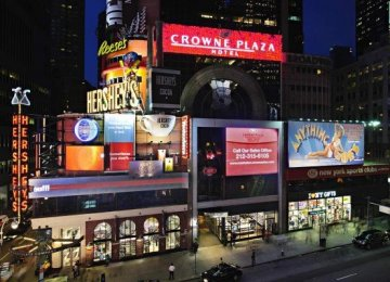 Crowne Plaza Times Square New York